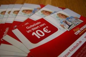 10€ Gutscheine zum Verteilen