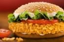 Der Crispy Chicken als King des Monats Juni 2011 bei Burger King