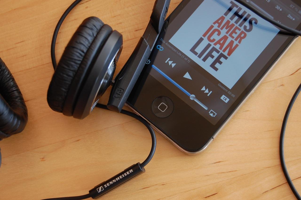 Sennheiser PX-200IIi ideal für Podcasts