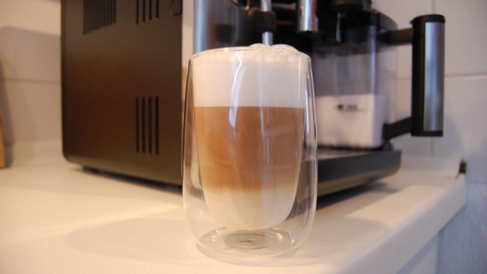 Fertiger Latte Macchiato