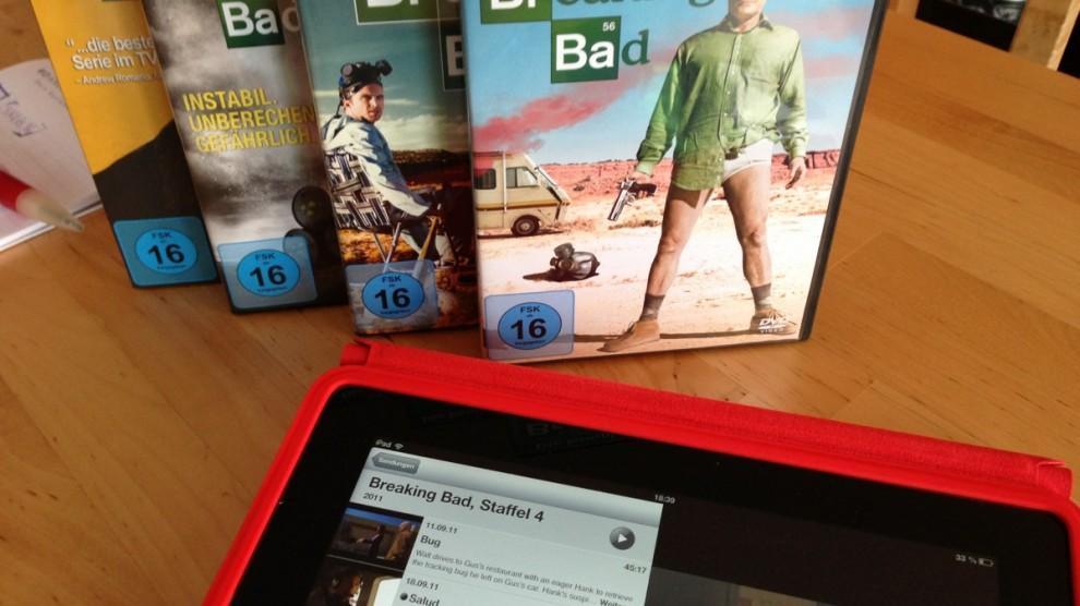 Wie bekomme ich meine Serien-DVDs auf das iPad?