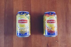 Sparkling Lipton Ice Tea