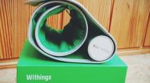 Withings kabelloses Blutdruckmessgerät über Bluetooth
