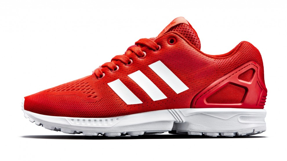 e179d9d8a adidas Originals ZX FLUX in Red White exklusiv bei JD Sports