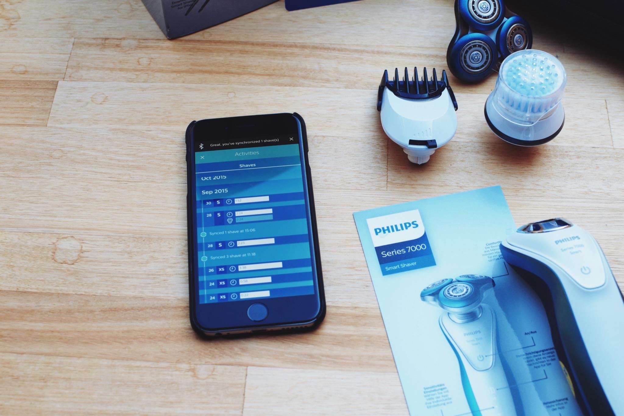 Philips Smart Shaver Series 7000 3
