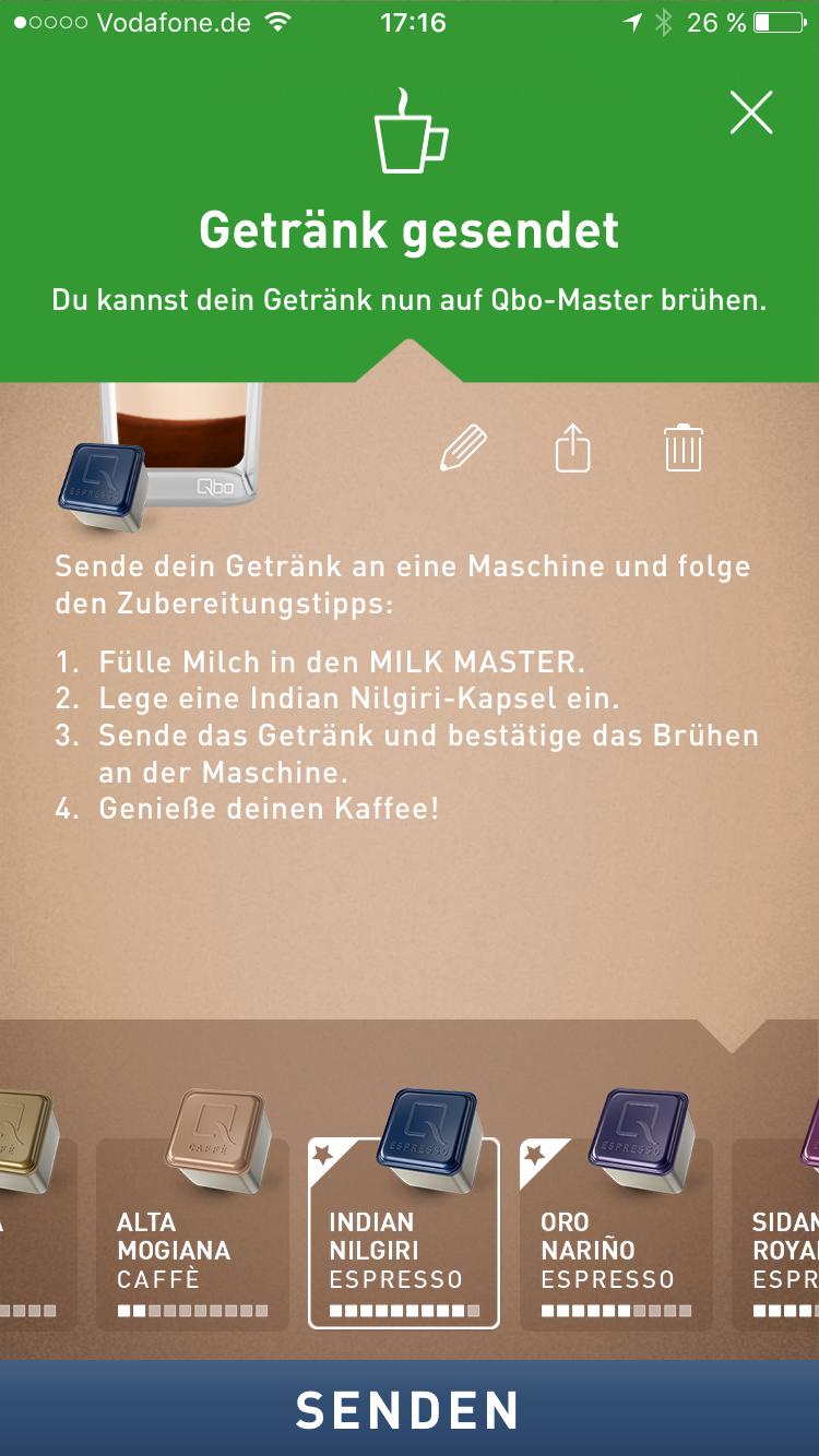 qbo smarte Kaffeemaschine 33