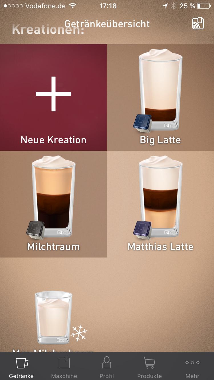 qbo smarte Kaffeemaschine 36